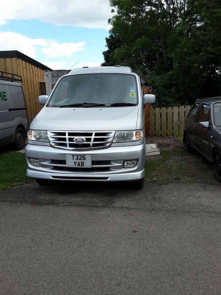 Ford Freda campervan like Mazda bongo