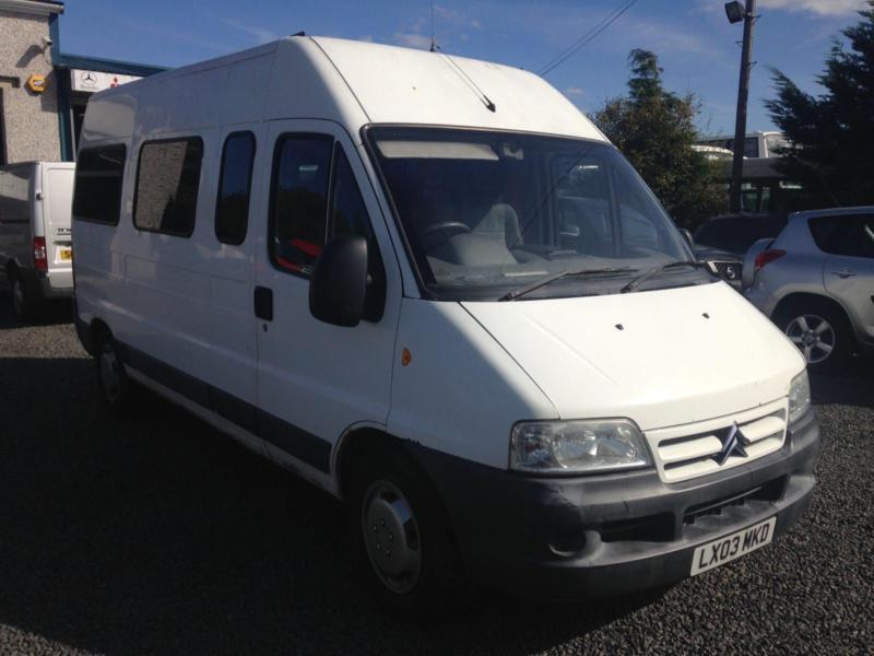 CITROEN RELAY 1800 TD HDI LWB camper conversion