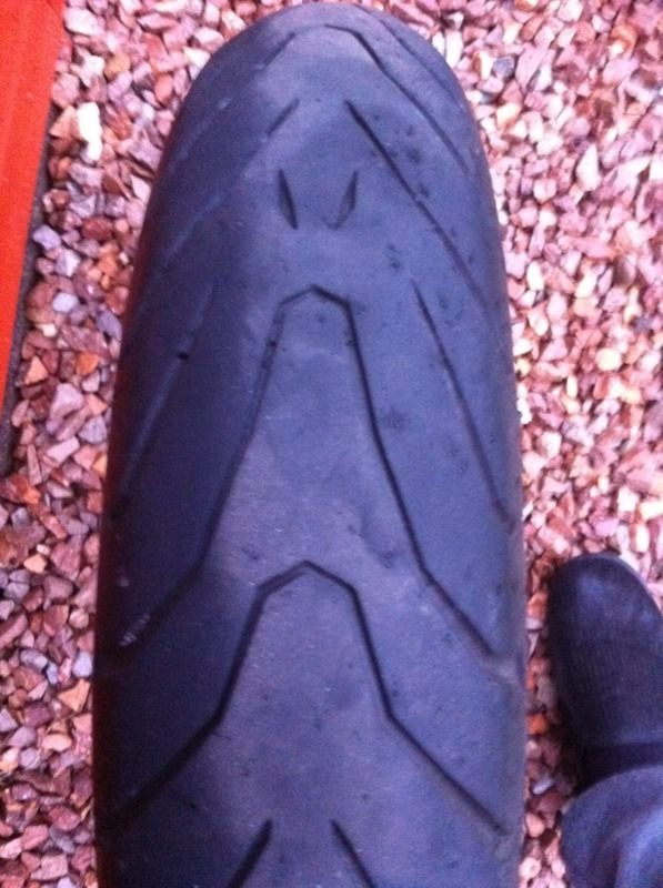 Pirelli angel front bike tyre
