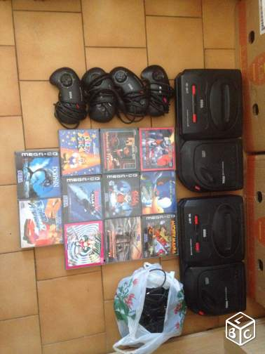 Collection jeux video sega nintendo
