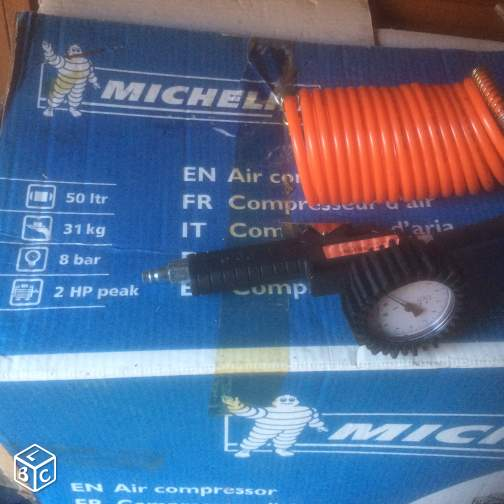 Compresseur Michelin MB50 8bars