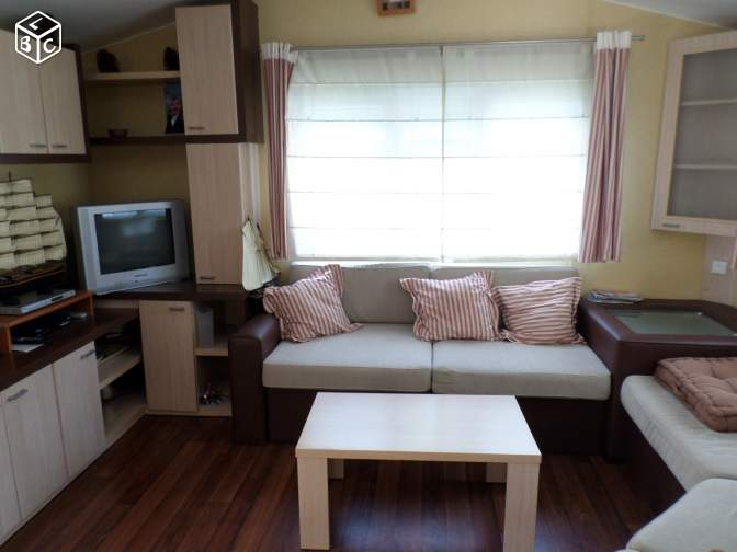 Mobil home 4 pers ter couver lave linge chek vaca