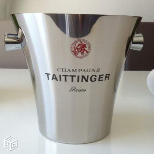 SEAU CHAMPAGNE TAITTINGER / LAURENT PERRIER