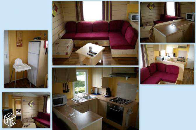 """LOCATION MOBIL HOME """"LES CHARMETTES""""semaine 33"""