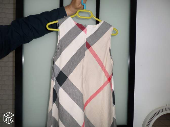 Robe burberry
