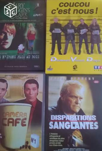 Lot de dvd variés