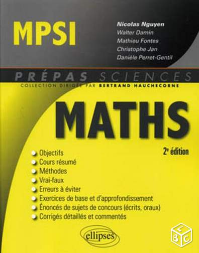 PROF de MATHS et Coach pour CLASSES PREPAS