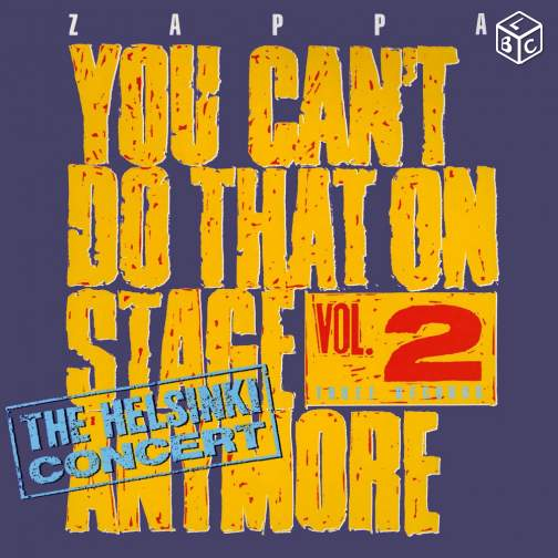 Zappa You Can't Do That On Stage Anymore Vol. 2