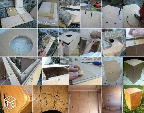 Stage fabrication de cajon