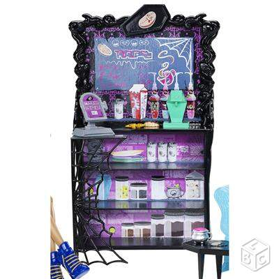 Clawdeen Wolf Cafe de MONSTER HIGH état impeccable