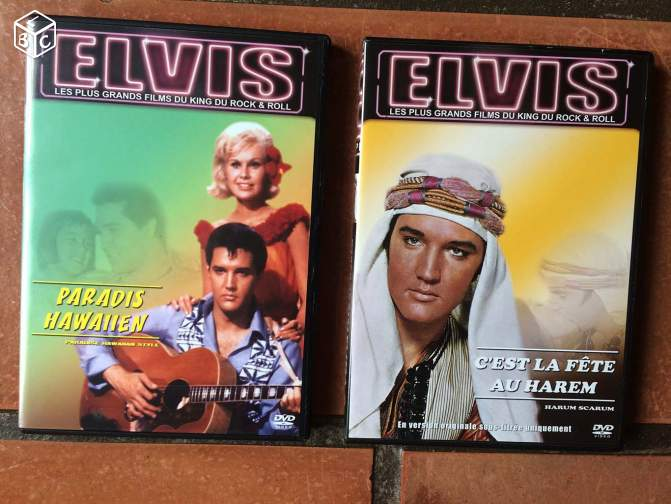 Elvis presley : collection de 49 dvd