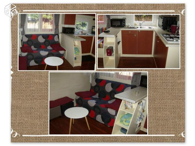 ROYAN Mobil home (5 pers) , cpg 3 etoiles