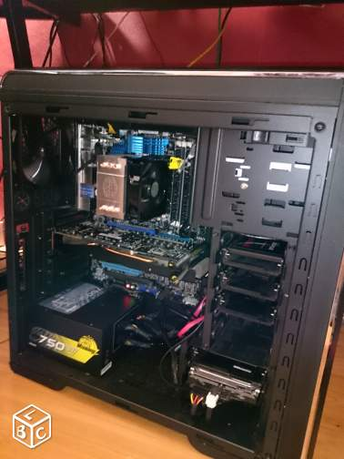 Tour Montage/Gamer i7 2600k 16go SSD 120 Go HDD3To