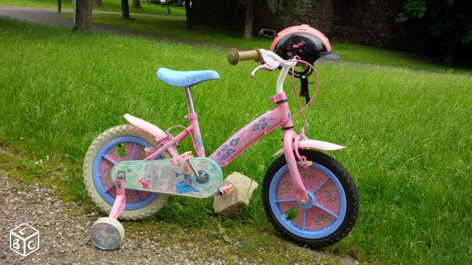 "Vélo Barbie ""The Island Princess"" 14"" en tbe"