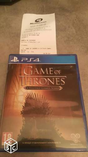 Jeu PSP4 : Game of Thrones