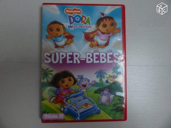 "DVD Dora "" SUPER-BEBES"" vol 16 (ln44)"