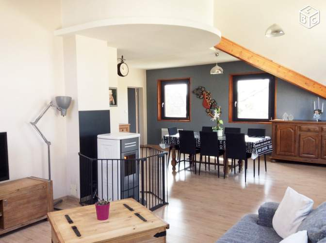 Grand appartement 137m2 sans charges