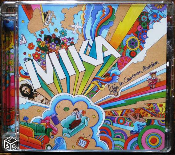 "CD Mika ""Life in cartoon motion"" - 2007"
