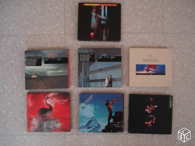 Collection depeche mode cd/dvd rare