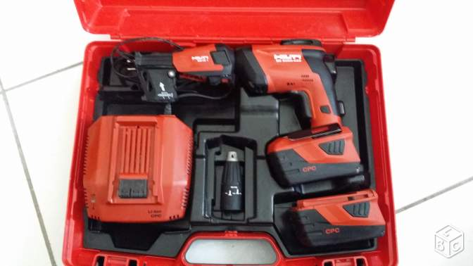 Visseuse placo hilti SD-5000 + 10000 VIS