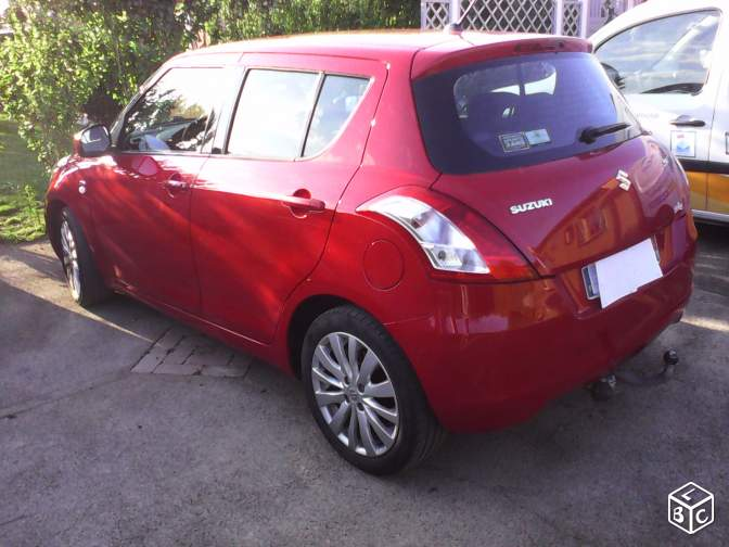 Susuki Swift 1,3 ddis glx 75 de 2012 grtie 1an 5 p