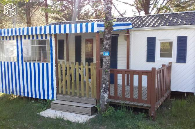 Mobil home camping Dordogne 5 personnes