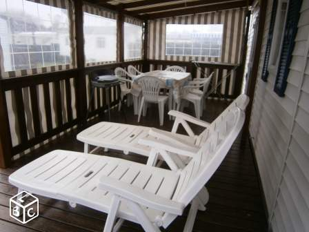 Location mobil home camping 4* à 400m plage