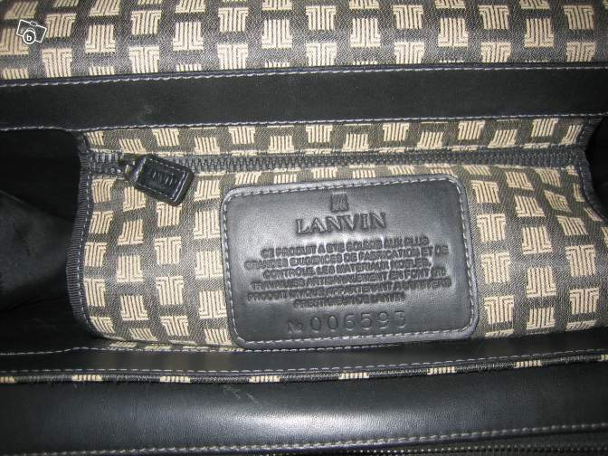 Cartable LANVIN