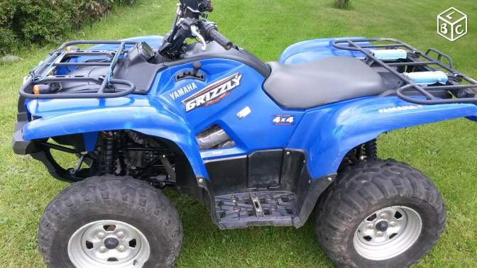 Quad yamaha grizzly 700
