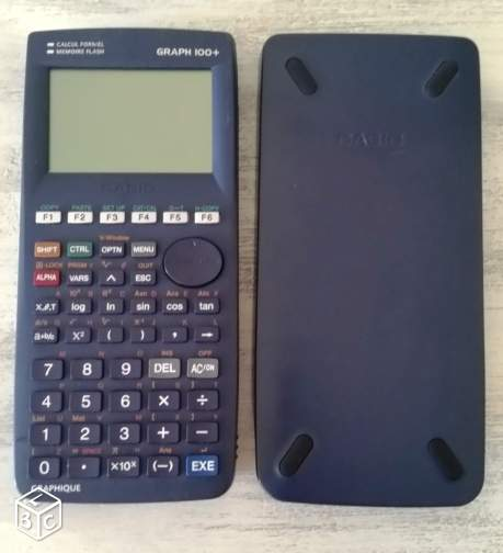 Calculatrice graphique CASIO GRAPH 100+