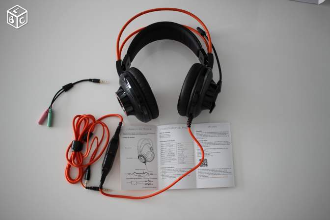 Casque Gaming compatible PS4/PC/Smartphone - NEUF