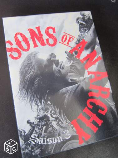 "Série TV ""SONS OF ANARCHY"" saison 3 - 15 euros"