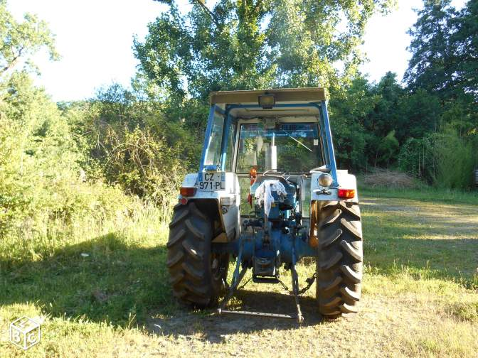 Tracteur Ford 4600