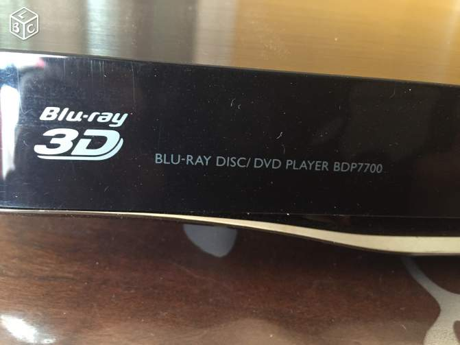 Lecteur Blu-Ray BDP7700 Philips