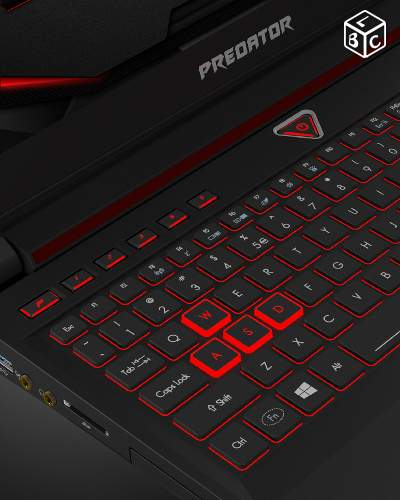 Acer Predator G9 591 PC Portable gamer