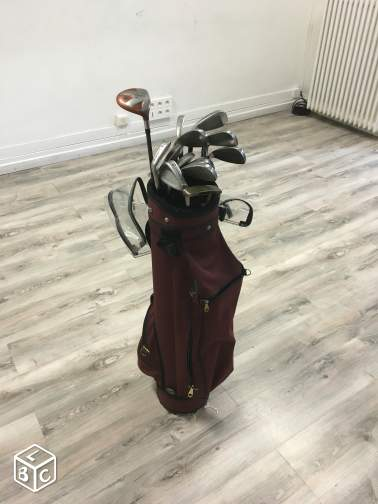 Sac de golf + club