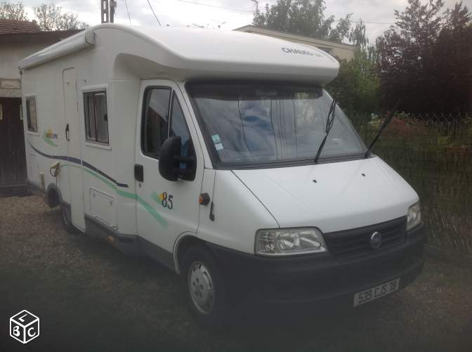 Camping-car fiat ducato diesel