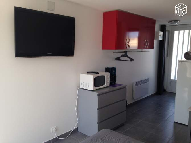 Studio 2 pers canet plage