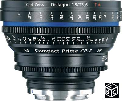 Zeiss Compact Prime CP.2 18mm Canon EF