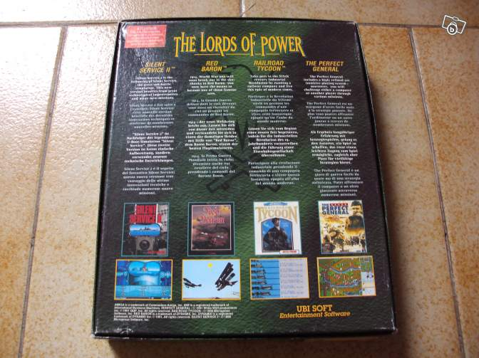 The Lords of Power (PC big box disquettes)