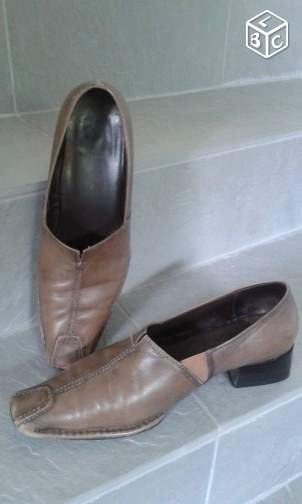 CHAUSSURES cuir T.41 -- VAL
