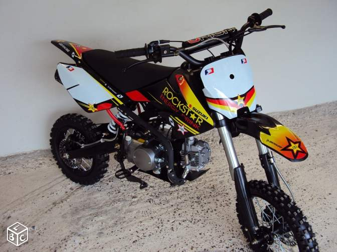 Dirt moto 125cc monster ou rockstar quad