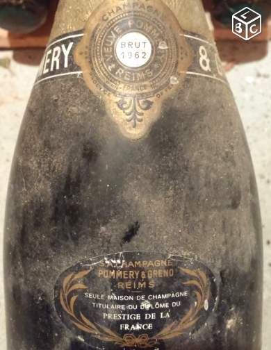 Exceptionnelle Cuvée 1962 POMMERY & GRENO