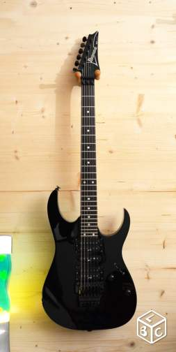 Ibanez Super Strat RG570 Black Made in Japan 1999