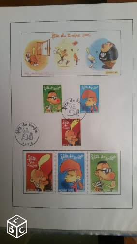 Timbres 1er jour