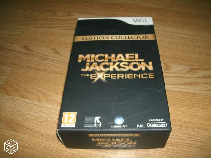 Wii édition collector michael jackson the exper