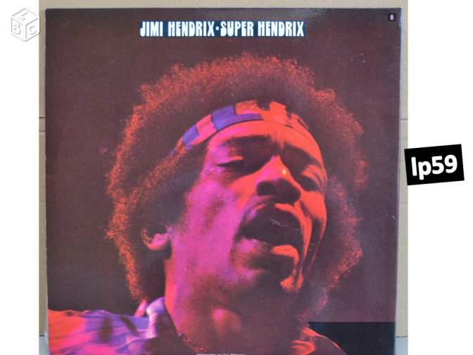 2 Disques 33T: JIMI HENDRIX - the greatest origina