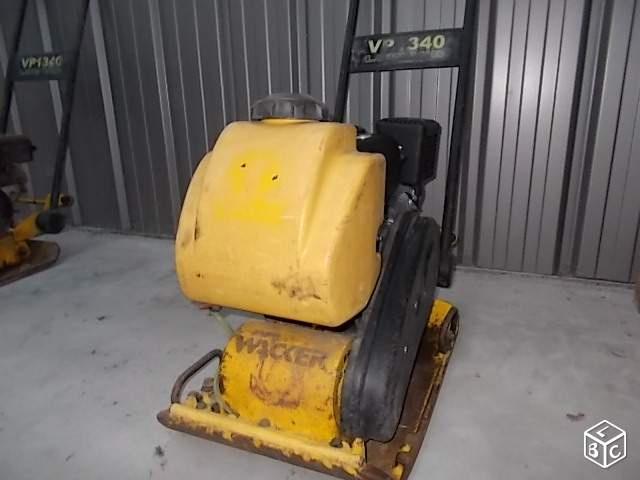 Plaque wacker VP1340