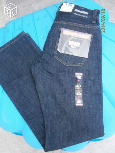 Jean complice homme taille 40 neuf