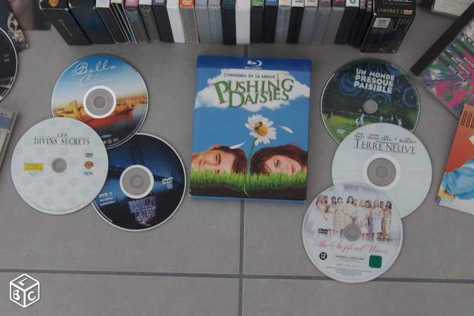Lot de dvd et blu-ray